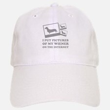 Pictures Of My Wiener On The Internet Baseball Baseball Cap