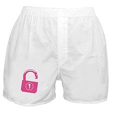 Unlock my Passion Boxer Shorts