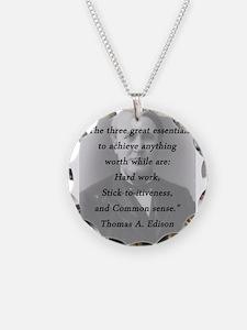Edison - Three Great Essentials Necklace