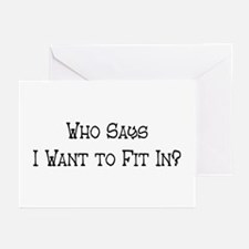 Who Says Greeting Cards (Pk of 10)