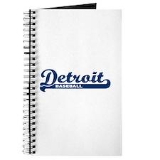 Detroit Baseball Script Journal