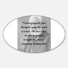 Bell - Concentrate Sticker (Oval)