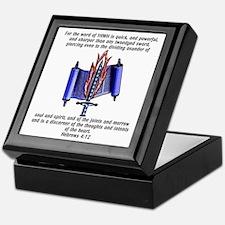 Twoedged Sword Keepsake Box