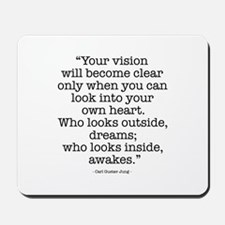 Vision by Carl Jung Mousepad