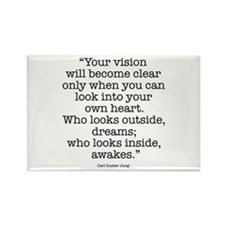 Vision by Carl Jung Rectangle Magnet