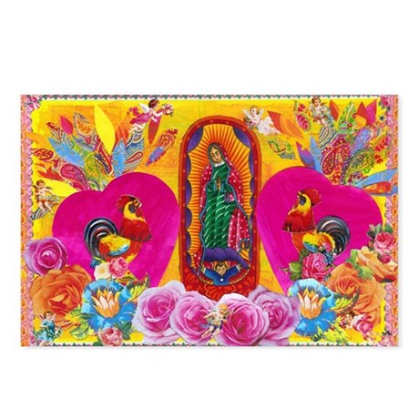 Our Lady of Color Postcards (Package of 8)