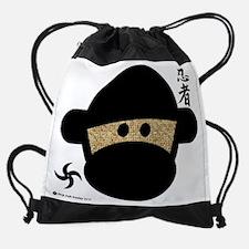 ninjamonkeyheadnew.png Drawstring Bag