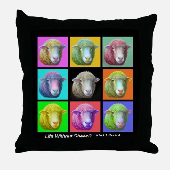 Throw Pillow~Sheep Pop Art