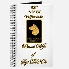 Proud Wolfhound Spouse Journal