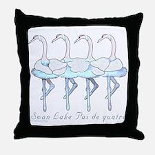 Swan Lake Throw Pillow