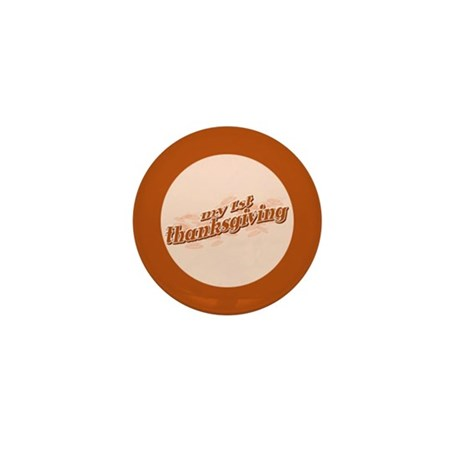 """""""My 1st Thanksgiving"""" Mini Button (10 pack)"""