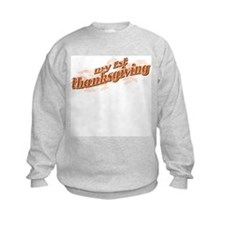 """My 1st Thanksgiving"" Sweatshirt"