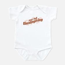 """My 1st Thanksgiving"" Infant Bodysuit"