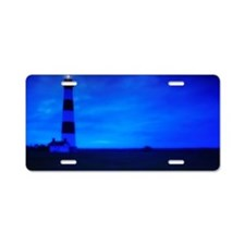 Bodie Island Lighthouse Aluminum License Plate