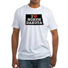 I Love North Dakota Shirt