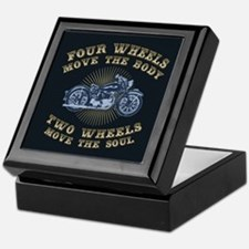 2 Wheels Move IV Keepsake Box