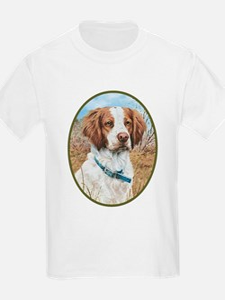 smittyts.com Brittany Spaniel Kids T-Shirt
