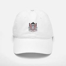 Greaser Sugar Skull Baseball Baseball Cap