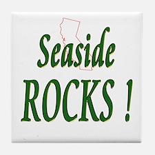 Seaside Rocks ! Tile Coaster