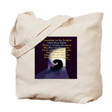 Ode to a Black Cat Tote Bag