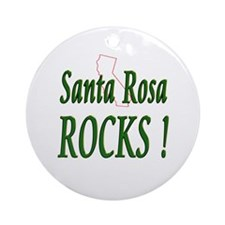 Santa Rosa Rocks ! Ornament (Round)
