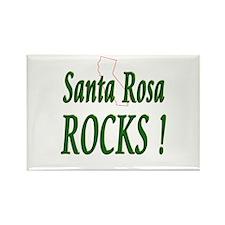 Santa Rosa Rocks ! Rectangle Magnet