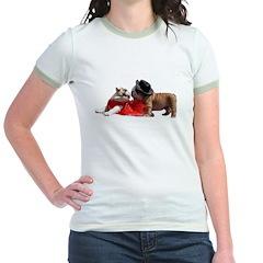 Kissing Bulldog puppies T