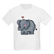 Elephant Love Kids T-Shirt