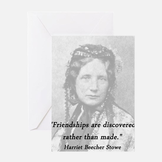 Stowe - Friendships Greeting Card
