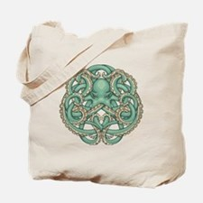 Octopus Emblem Tote Bag