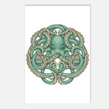 Octopus Emblem Postcards (Package of 8)