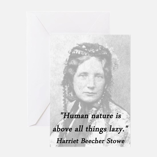 Stowe - Human Nature Greeting Card
