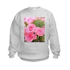 Pink Rose Bouquet Sweatshirt