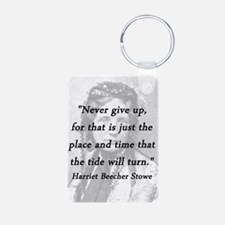 Stowe - Never Give Up Keychains
