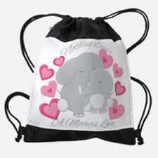 Elephant Love Drawstring Bag