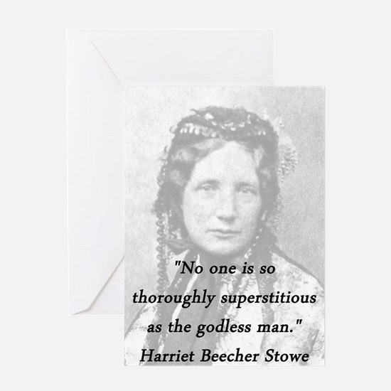 Stowe - Superstitious Greeting Card