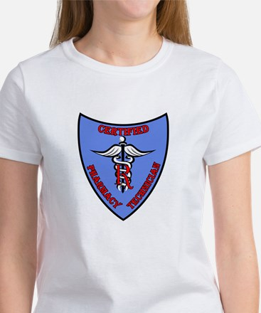 Certified Pharmacy Tech Badge Women's T-Shirt