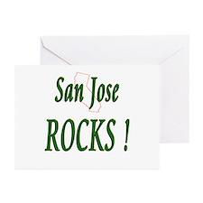San Jose Rocks ! Greeting Cards (Pk of 10)