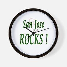 San Jose Rocks ! Wall Clock