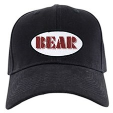 BEAR-RED DIMPLED SHADOW Baseball Hat