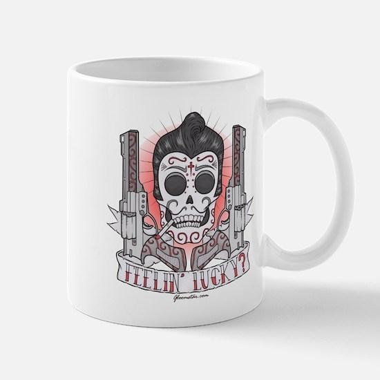 Greaser Sugar Skull Mug
