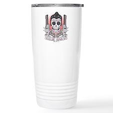 Greaser Sugar Skull Travel Coffee Mug