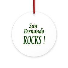 San Fernando Rocks ! Ornament (Round)