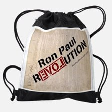 RONPAULREVOLUTION on Preamble-3h Xb Drawstring Bag