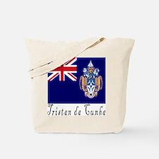 Tristan da Cunha Tote Bag