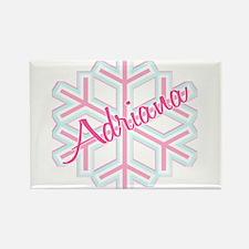 Snowflake Adriana Rectangle Magnet