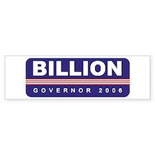 Support Jack Billion Bumper Bumper Sticker