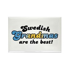 Swedish Grandmas Rectangle Magnet
