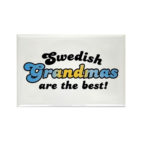 Swedish Grandmas Rectangle Magnet