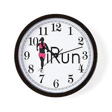 iRun Wall Clock